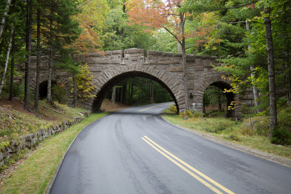 Carriage Road Bridge – Acadia National Park